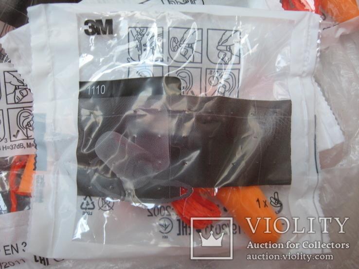 Беруши,защита от шума 100 шт, фото №3