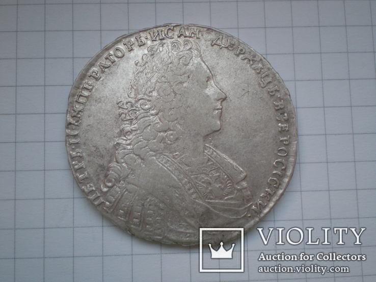 Рубль 1729 г., фото №2