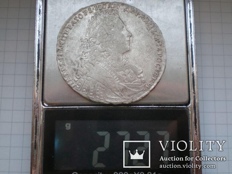 Рубль 1729 г., фото №10