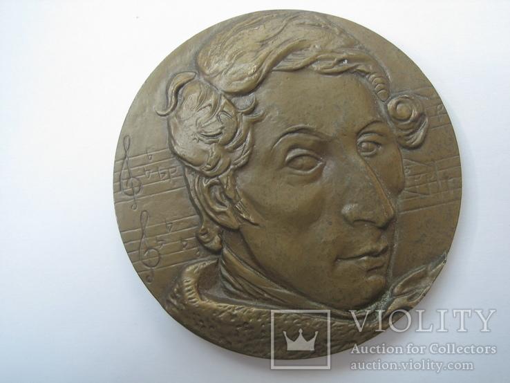 Настольная медаль «Карл Мария Вебер», фото №5