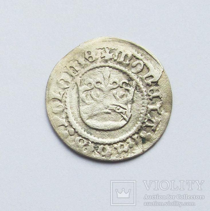 Полугрош 1501-1506гг Александр Ягеллончик , г. Краков, фото №2