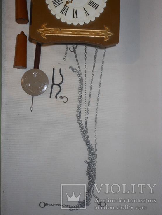 Часы с кукушкой СССР  Маяк, фото №4