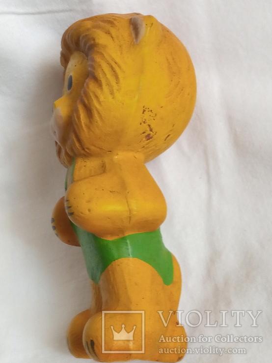 Резиновый лев, фото №4