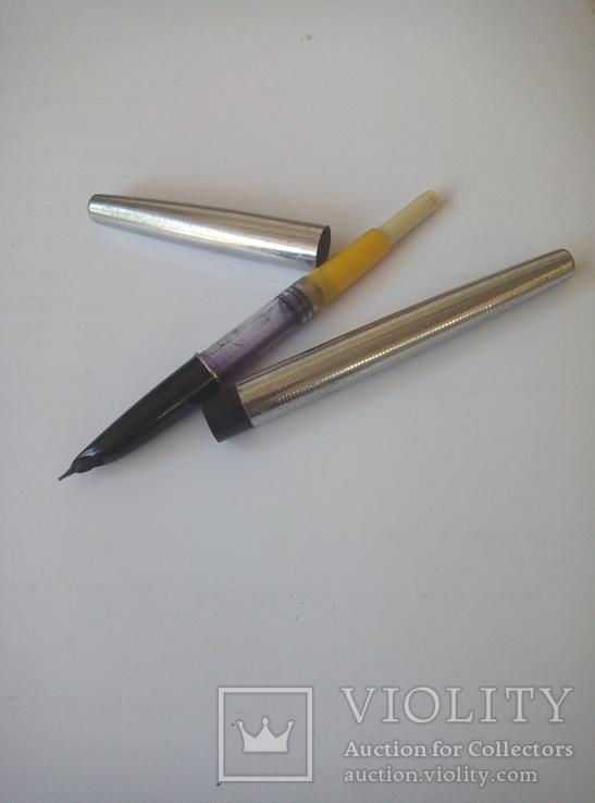 Чернильная ручка. Клеймо (Олимпиада 1980)., фото №5