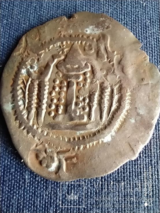 Эфталиты.Неизвестный правитель 474-561 г.Драхма., фото №7