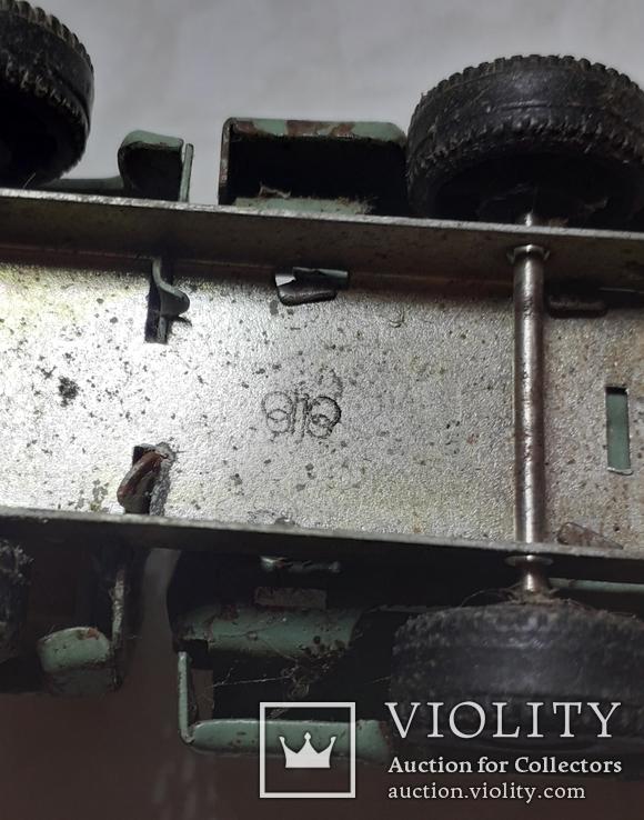 Машинка железная-грузовичок из СССР, фото №3