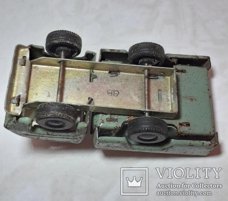 Машинка железная-грузовичок из СССР, фото №4