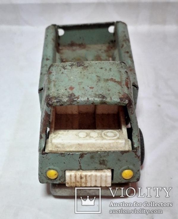 Машинка железная-грузовичок из СССР, фото №6