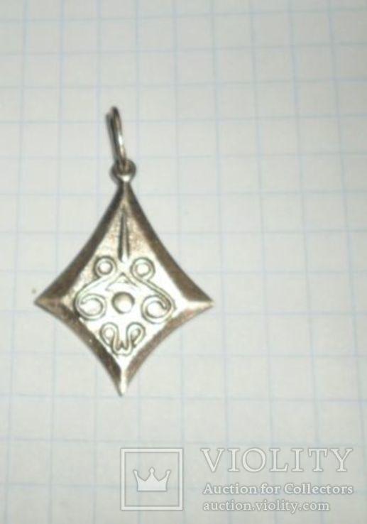 Кулон СССР 875 звезда 2,51 г, фото №2
