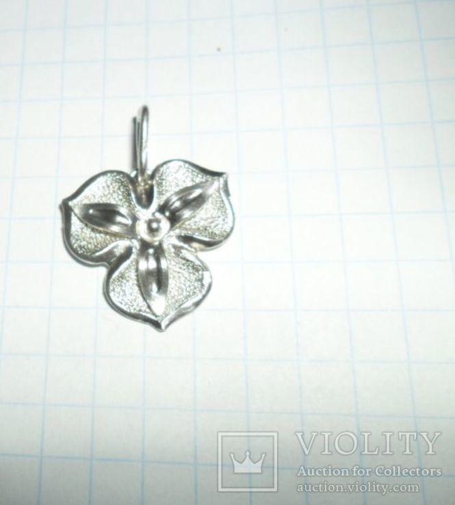 Кулон СССР 925 звезда 2,8 г, фото №2