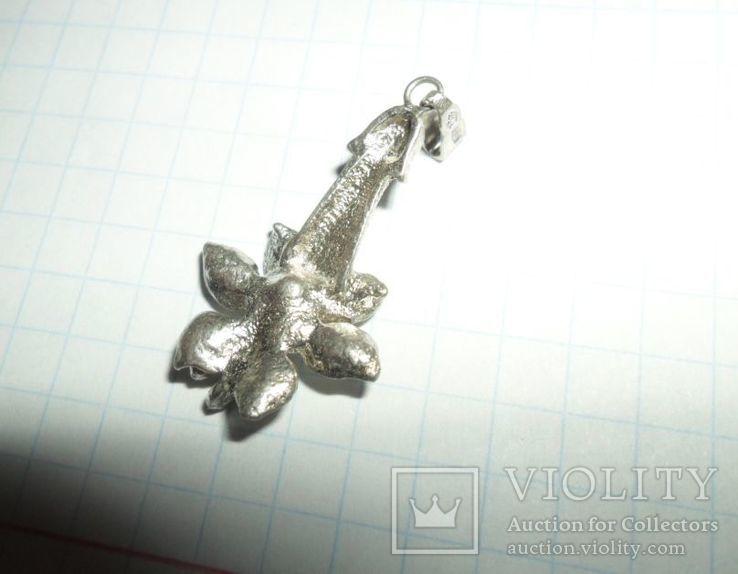 Кулон СССР 916 звезда 2,92 г, фото №5