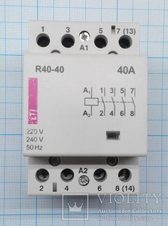 355 контактор ETI 40А, фото №2