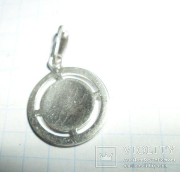 Кулон СССР 925 звезда 2,16 г козерог, фото №4