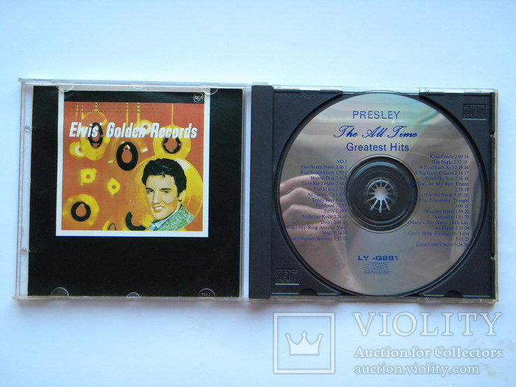 CD. Elvis Presley - Greatest Hits., фото №4
