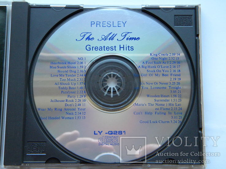 CD. Elvis Presley - Greatest Hits., фото №5