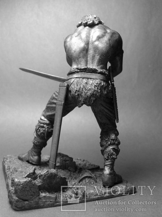 Киммерийский воин. Конан варвар.( Арнольд Шварценегер )  75мм., фото №4