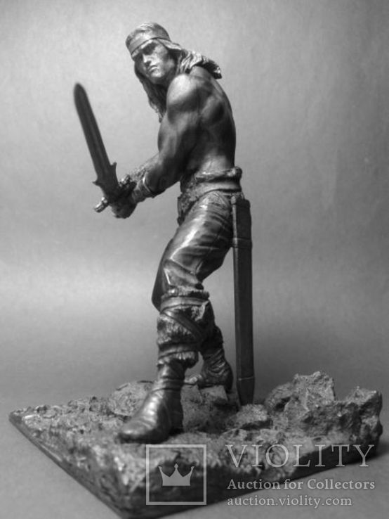Киммерийский воин. Конан варвар.( Арнольд Шварценегер )  75мм., фото №5