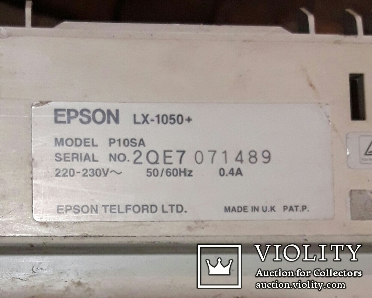 Плата матричного принтера EPSON  LX-1050+, фото №6