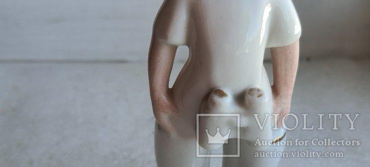 Статуэтка Буденовец с биноклем ЗХК Полонне, фото №6