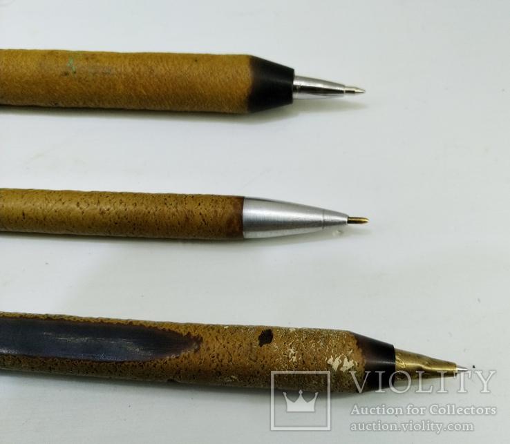 Ручки эбонитовые 3 шт, итк зекпром СССР, фото №5