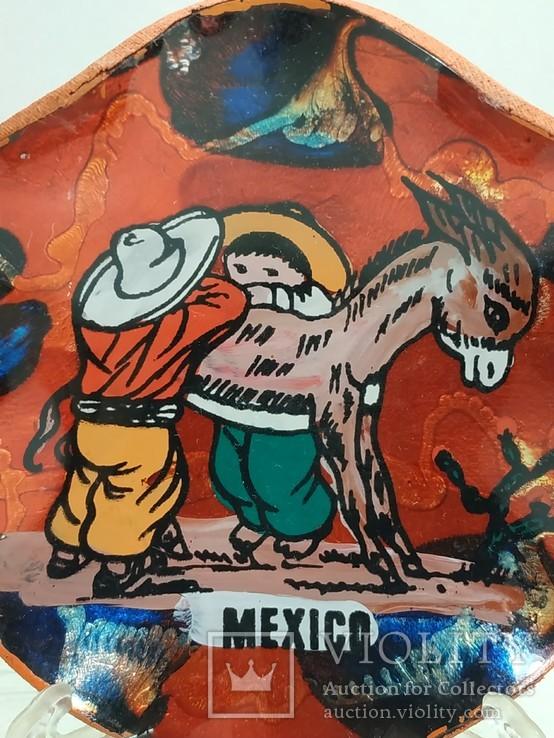 Сувенирная настенная тарелочка  Мексика, фото №12