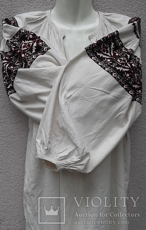 Сорочка вышитая льняная, фото №2