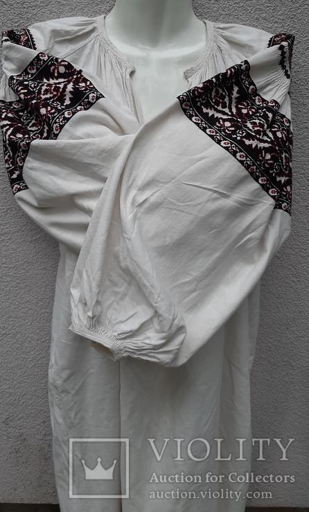 Сорочка вышитая льняная, фото №3