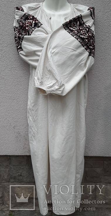 Сорочка вышитая льняная, фото №4
