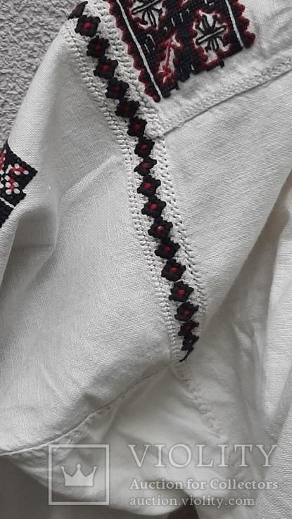 Сорочка вышитая льняная, фото №6