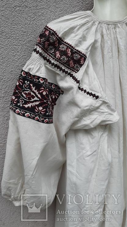 Сорочка вышитая льняная, фото №12