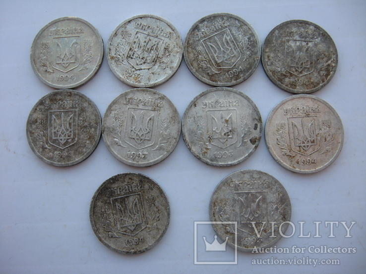 2 копейки 1993-1994 года (10 шт), фото №2