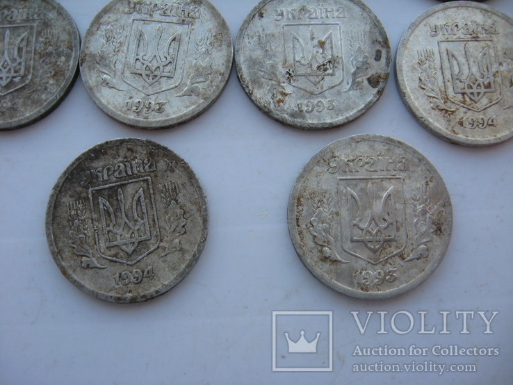 2 копейки 1993-1994 года (10 шт), фото №5