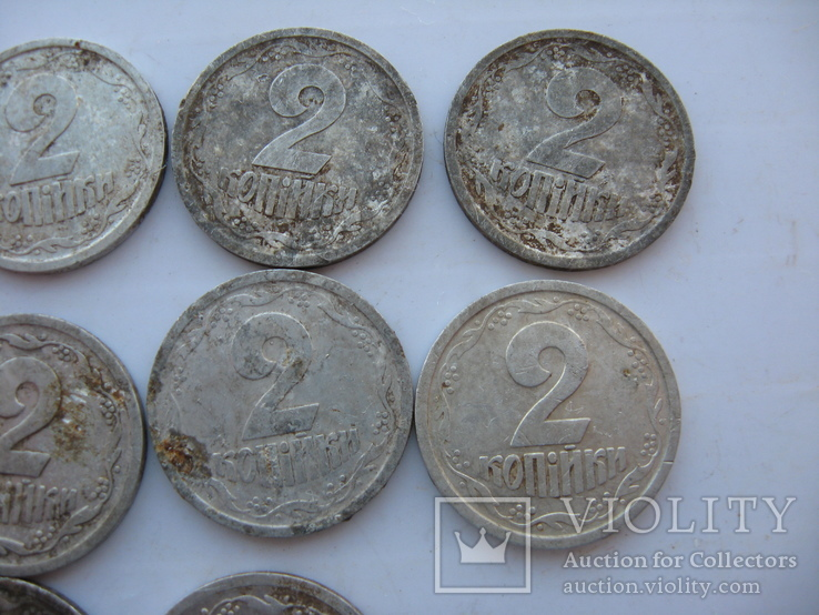 2 копейки 1993-1994 года (10 шт), фото №8