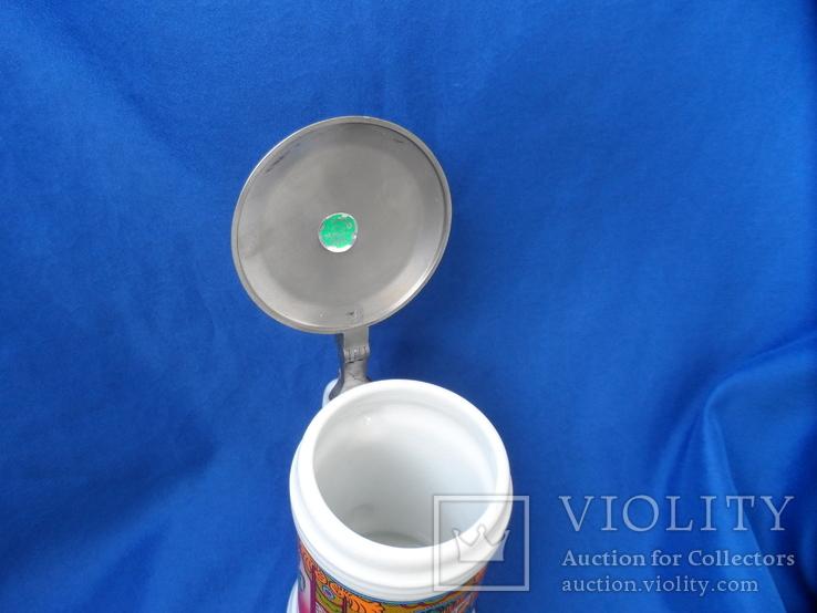 Коллекционная  пивная кружка  Германия  0,5 L, фото №8