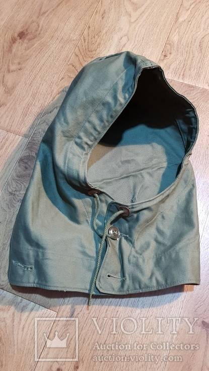 Капюшон американской куртки М43. 1945, фото №2