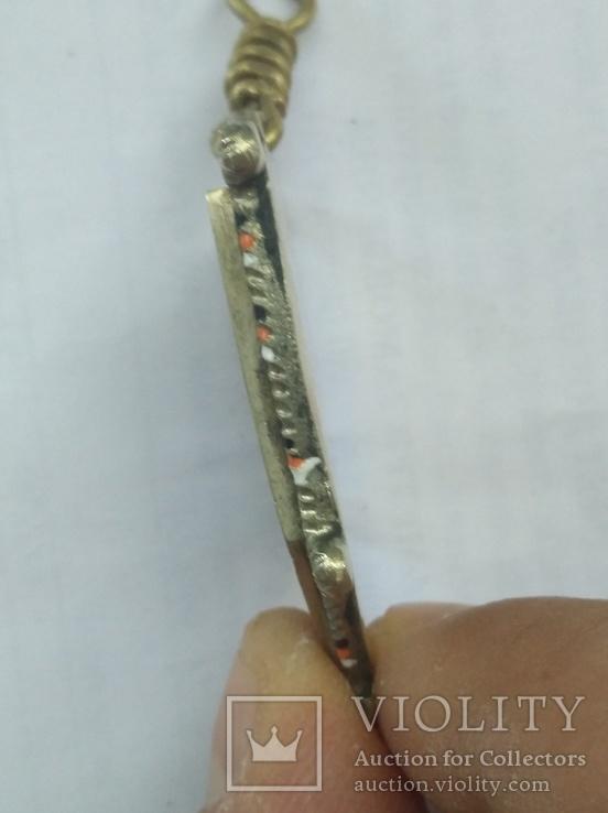 Копия юбилейного жетона Елизаветградского  адского гусарского полка, фото №4