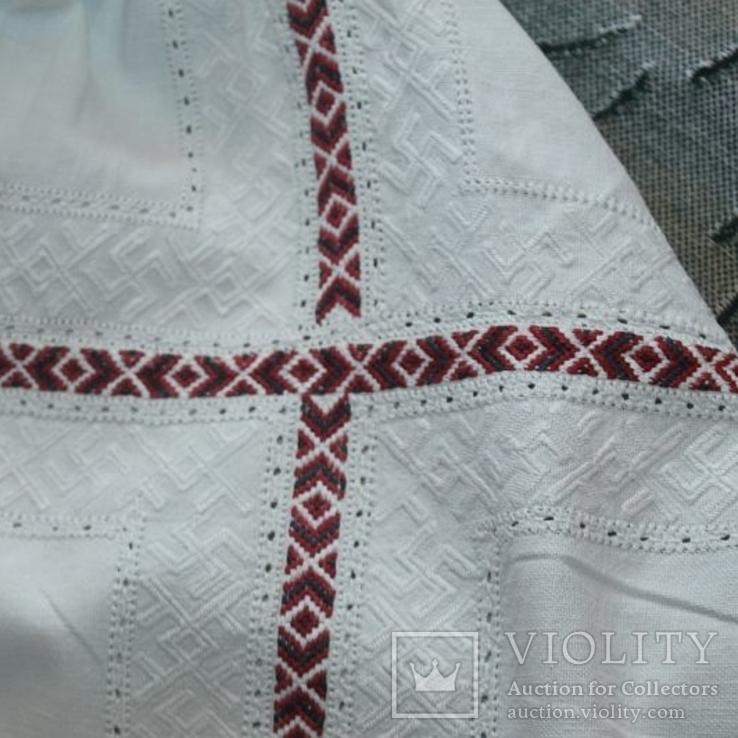Сорочка старовинна, вишита сваргами, фото №6