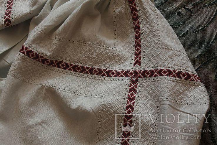 Сорочка старовинна, вишита сваргами, фото №9