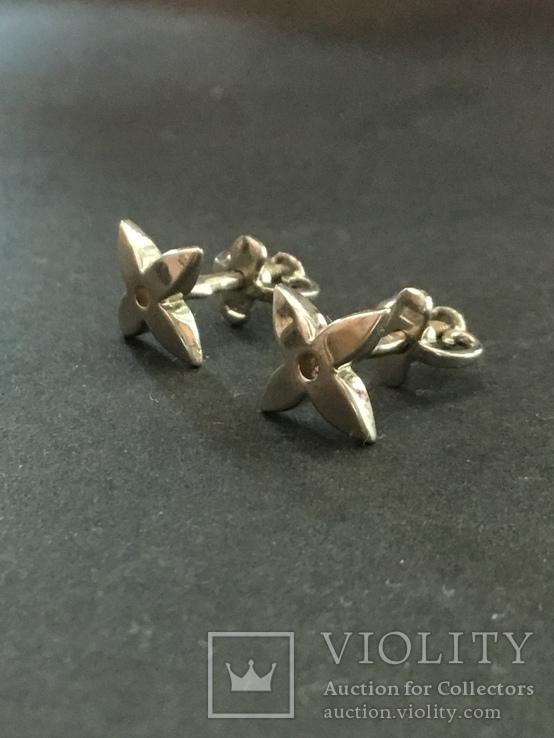 Сережки гвоздики, фото №5