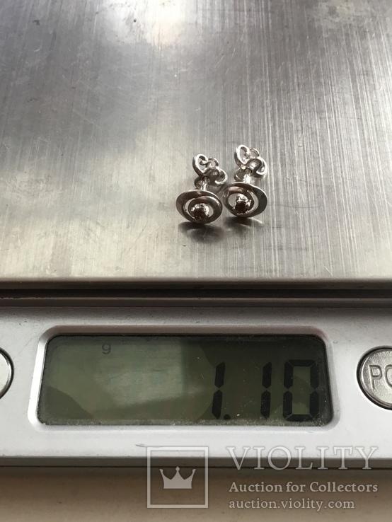 Сережки гвоздики, фото №6