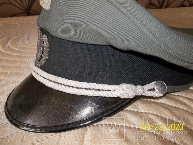 Фуражка  офицерская  австрийская  армия. раз. 58., фото №4
