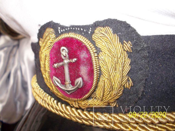 Фуражка  офицерская  морская., фото №4