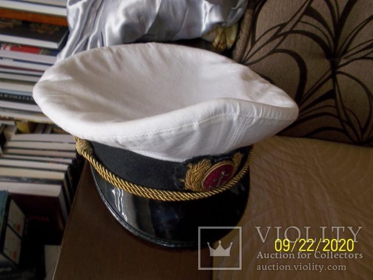 Фуражка  офицерская  морская., фото №6