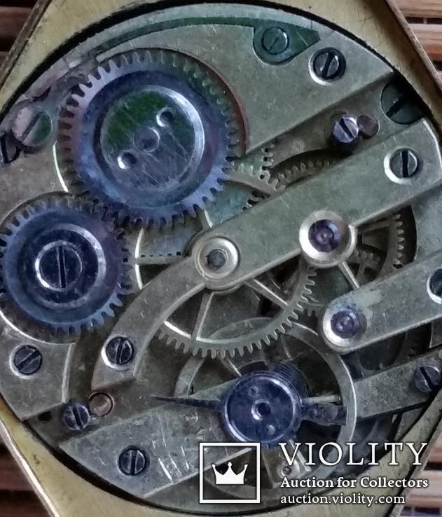 Годинник з браслетом, золото 56 проби, алмази, фото №12