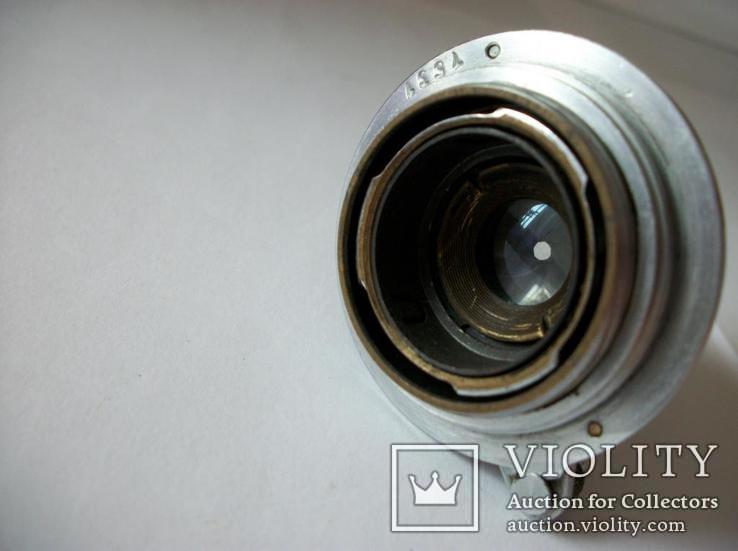 Объектив фэд 1:3,5 , f=50mm , No-001171, фото №4