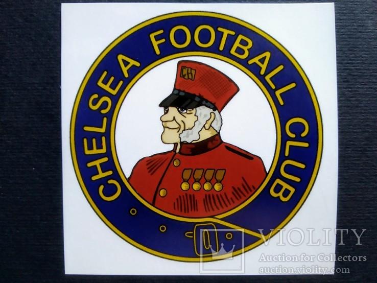 Виниловая наклейка FC Chelsea (Логотип 1905-1952), фото №2