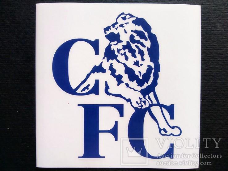 Виниловая наклейка FC Chelsea (Логотип 1986-2005)