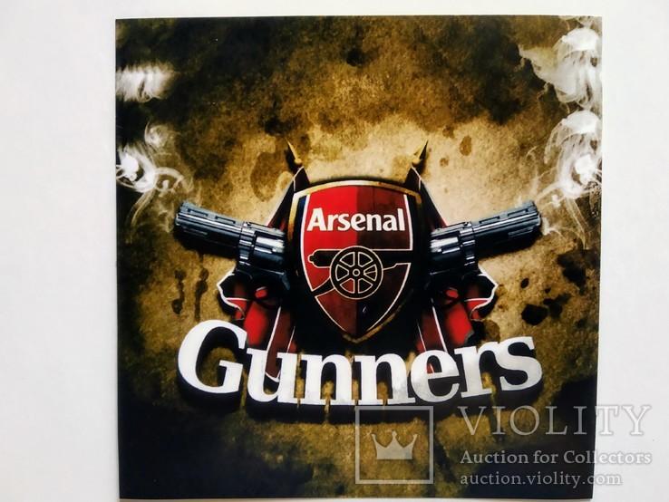 Виниловая наклейка FC Arsenal London, фото №2