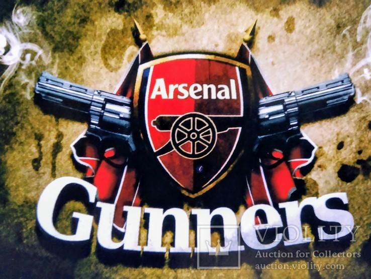 Виниловая наклейка FC Arsenal London, фото №3