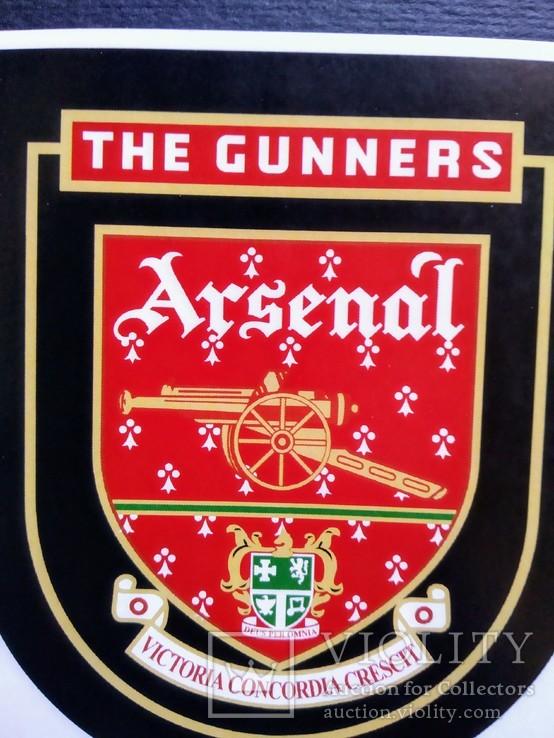 Виниловая наклейка FC Arsenal London (Логотип 1949-2002), фото №3